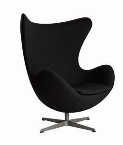 Fauteuil En Forme D Oeuf : fauteuil oeuf design arne jacobsen pour fritz hansen la boutique danoise ~ Teatrodelosmanantiales.com Idées de Décoration