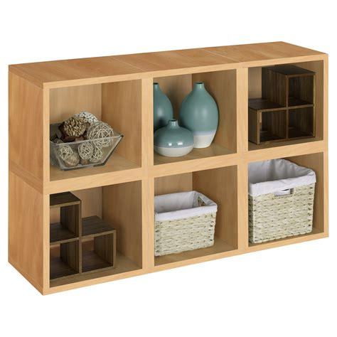 Modular Cube Bookcase by Way Basics Modular 6 Cube Bookcase Cedar Do Not Use At
