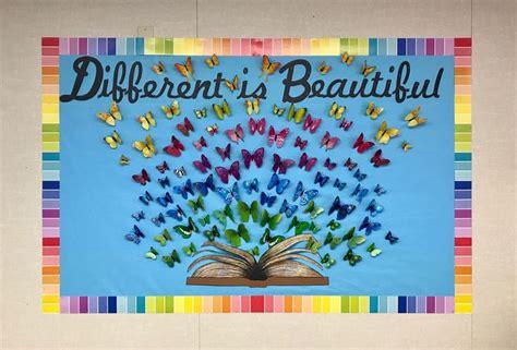 absolutely love   bulletin board butterflies