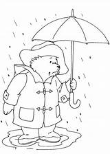 Paddington Flood Coloring Bear Stuck Designlooter Drawings 99kb 841px sketch template