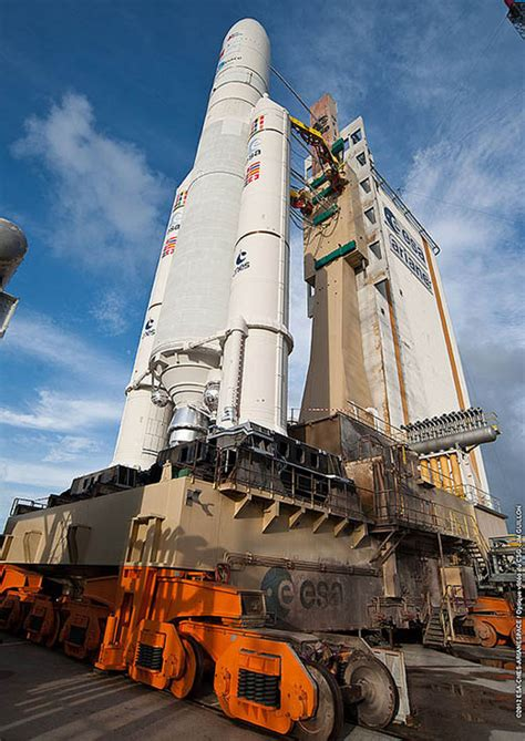 spaceflight  ariane launch report ariane  rocket