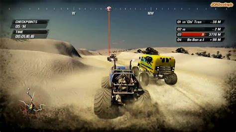 free monster truck videos fuel pc gameplay monster truck race hd 720p youtube