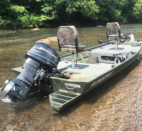 Fan Boat Conversion by River Boat Jon Boats Boating Bass Boat