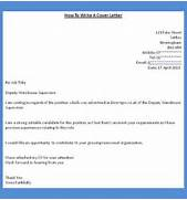 How To Get A Job How To Write A Cover Letter 8 Example On How To Write An Application Letter Application Letter For A Job Vacancy Samples 9 How To Right Application Bussines Proposal 2017