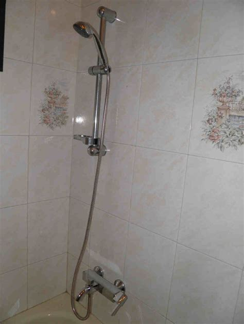 replace  shower mixer tap diy plumbing