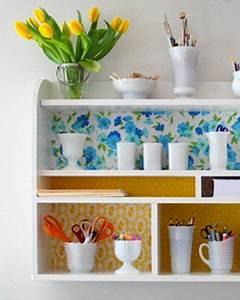 Recyclage Petite Cagette : diy une etag re home made diy idee rangement salle de bain bricolage et parement mural ~ Nature-et-papiers.com Idées de Décoration