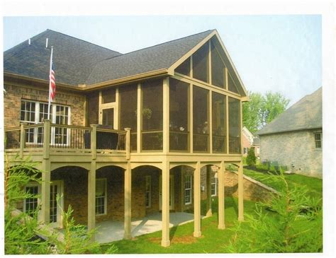 covered front porch knoxville screened porches covered porches and front porches