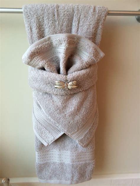 towel folding ideas for bathrooms towels bathroom towel hanging ideas display most