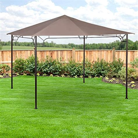 Gazebo Frames Replacement Canopy For 10 X 10 Accented Frame Gazebo