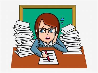 Frustrated Clipart Student Teacher Library Transparent Cliparts