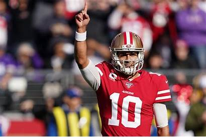 Jimmy Garoppolo 49ers Vikings San Pass Francisco