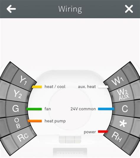 Nest Thermostat Heat Pump Wiring Diagram Periodic