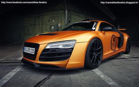 matte orange car bike fanatics tuned matte orange audi r8 gt850 by