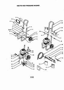 Craftsman High Pressure Washer Parts