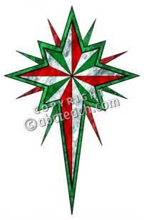 Religious Christmas Star Clip Art