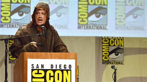 Comiccon Stephen Colbert Kicks Off 'hobbit' Panel