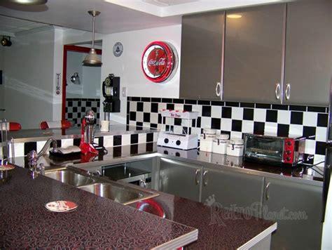 american diner kitchen accessories s retro basement makeover 4037