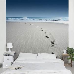 Bilder Für Wohnungsdekoration : 29 95 vliestapete spuren im sand fototapete quadrat ~ Michelbontemps.com Haus und Dekorationen
