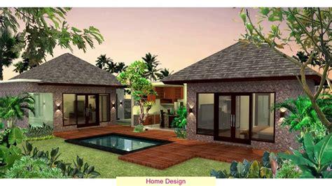 desain rumah villa youtube