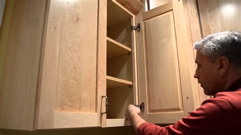 cabinet hinge adjustment youtube