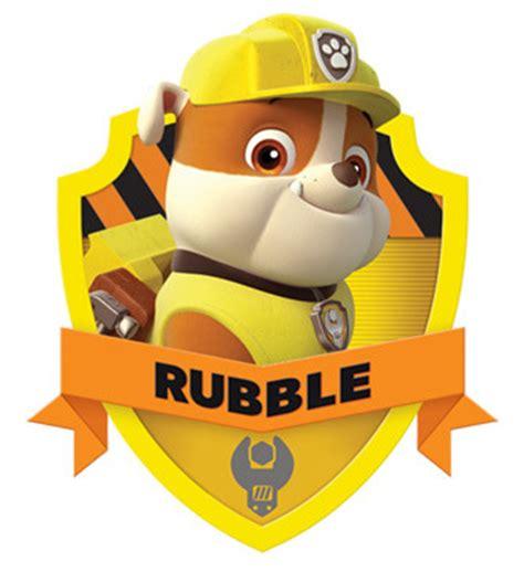 oh baby 006 paw patrol rubble free printable mini kit oh my