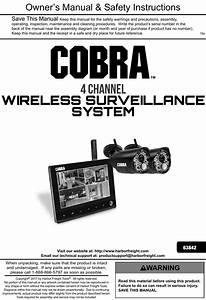Manual For The 63842 4 Channel Wireless Surveillance