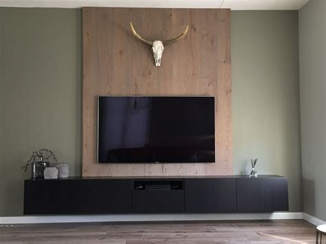 Ikea Küchen Wand by Tv Meubel Ikea Houten Achterwand Huis In 2019 Tv