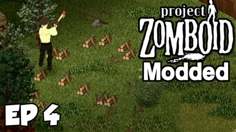 leveling carpentry project zomboid ep  modded