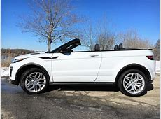Evoque crossover convertible built to go anywhere, except