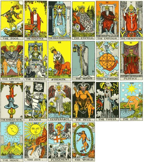 The picture suggests you are buying the latest edition of the rider waite tarot with restored original font titles by pamela colman smith. 301 Moved Permanently