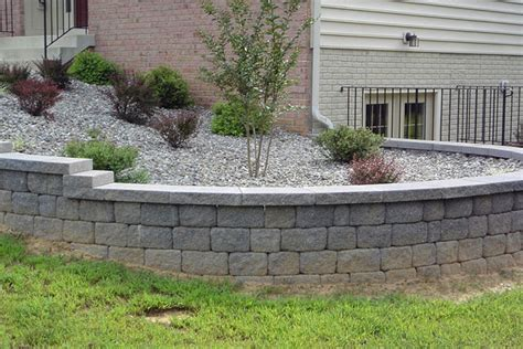 ideas for retaining walls ideas for a retaining wall