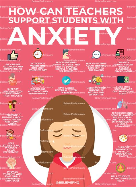 How Can Teachers Support Students With Anxiety  The Uk's Leading Sports Psychology Website