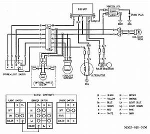 Honda Atv Atc200x Electrical Wiring Diagram  59351