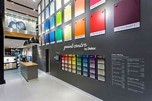 Paint shop interior design wishbone chicken restaurant for Interior paint colors for retail stores