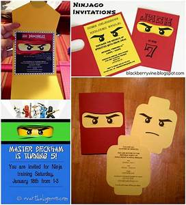 Lego Ninjago Party Ellie Kelly Blog