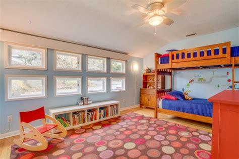 vibrant mid century modern kids room interior designs  kids  love