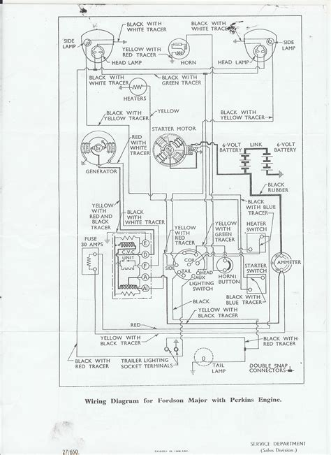 Fordson Major Wiring Diagram by Fordson Major Wiring Diagram Wiring Diagram