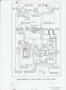 Repair Manual Fordson Super Major Wiring Diagram