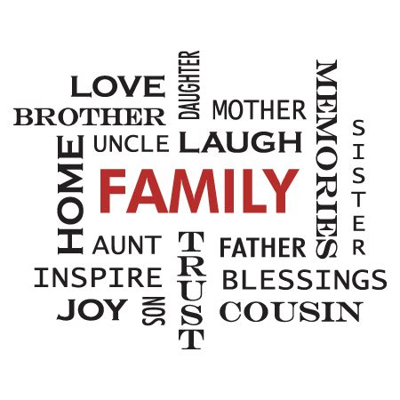 family crossword design wall quotes decal wallquotescom