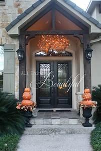 Fall, Porch, Lighting