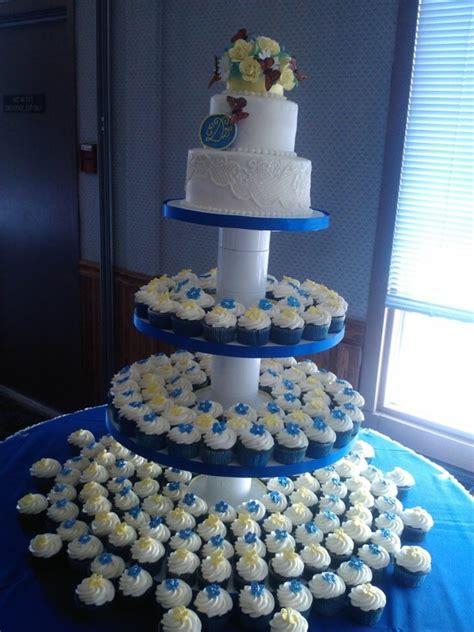 blue velvet wedding cakecentralcom