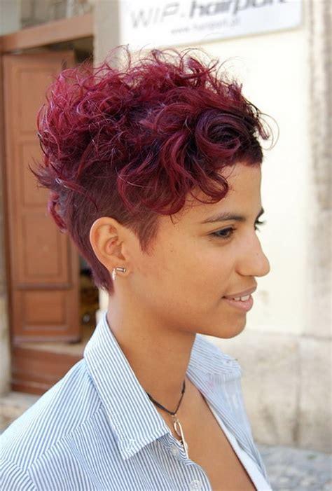 short sassy black hairstyles