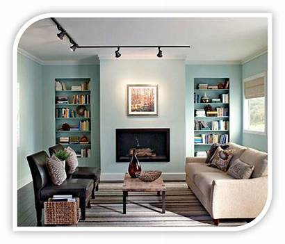 Living Lighting Decor Track Lights Livingroom Interior