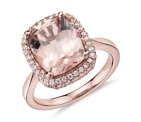Robert Leser Morganite And Diamond Ring In 14k Rose Gold. Engagement Gemstone. Cz Eternity Bands. Lapis Lazuli Wedding Rings. Ceramic Bands. Dangle Bracelet. Fake Diamond Rings. Custom Rubber Bands. Lapel Brooch