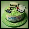 Caravan cake | Caravan cake, Cake, Birthday