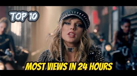 Top 10 Most Viewed Songs In First 24 Hours On Youtube