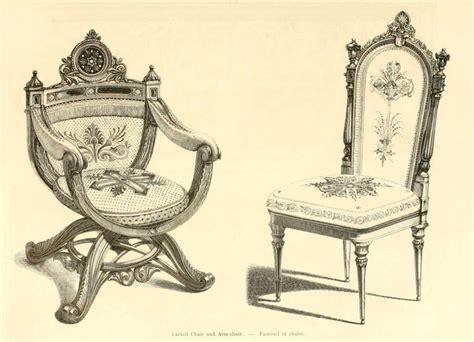 dessin chaise img dessins meubles mobilier fauteuil et chaise jpg