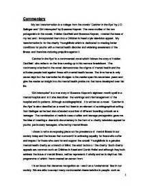 Healthy Food Essay Girl Interrupted Mental Illness Essay Examples Comparative Essay Thesis Statement also Essays In English Girl Interrupted Essay Hindi Essay Book Girl Interrupted Essay  Sample Business Essay