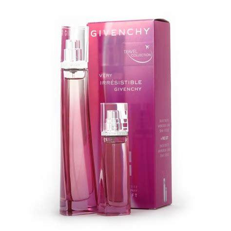 givenchy irresistible gift set 50ml eau de toilette with 15ml spray perfume zavvi