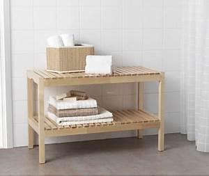 Ikea Salle De Bain Rangement : un banc pratique pour les petits dans la salle de bain enfant ~ Teatrodelosmanantiales.com Idées de Décoration